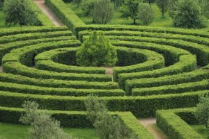 LABYRINTH OR MAZE DREAM MEANING